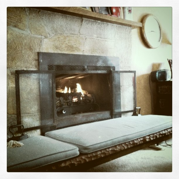 The Fireplace...