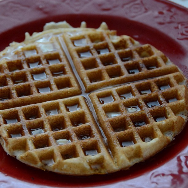 The perfect waffle...