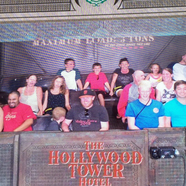 Checked in at Twilight Zone Tower of Terror