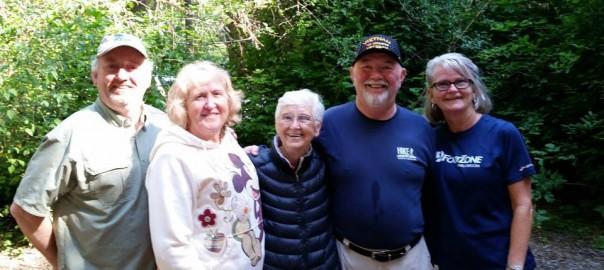 Ken and Heather Spurlock, Marian Spurlock, Glenn and Kathy Spurlock