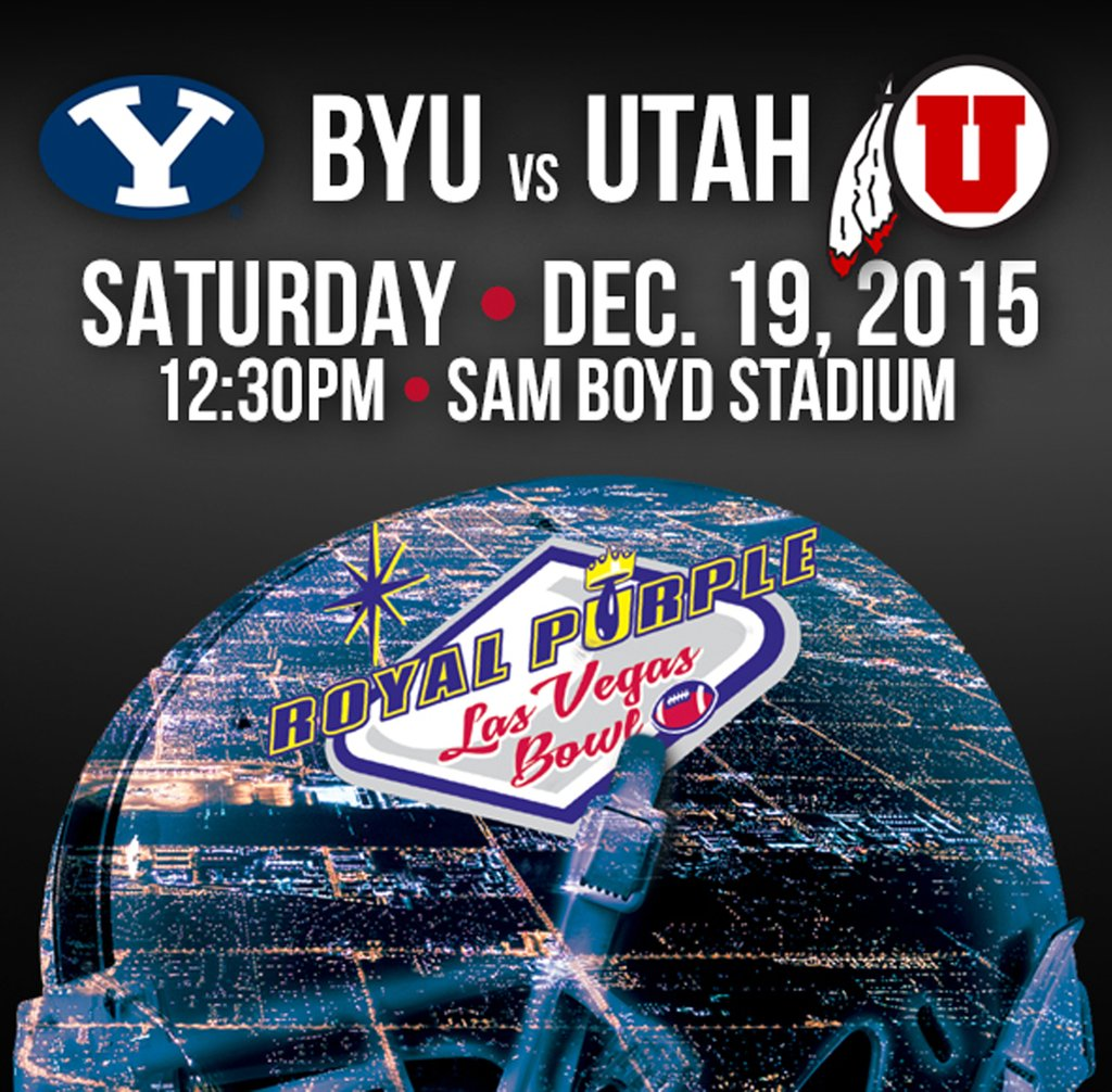 RT @LasVegasBowl: It's official! @Utah_Football…