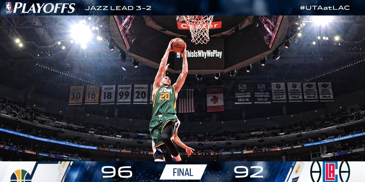 RT @utahjazz: Heading home to…