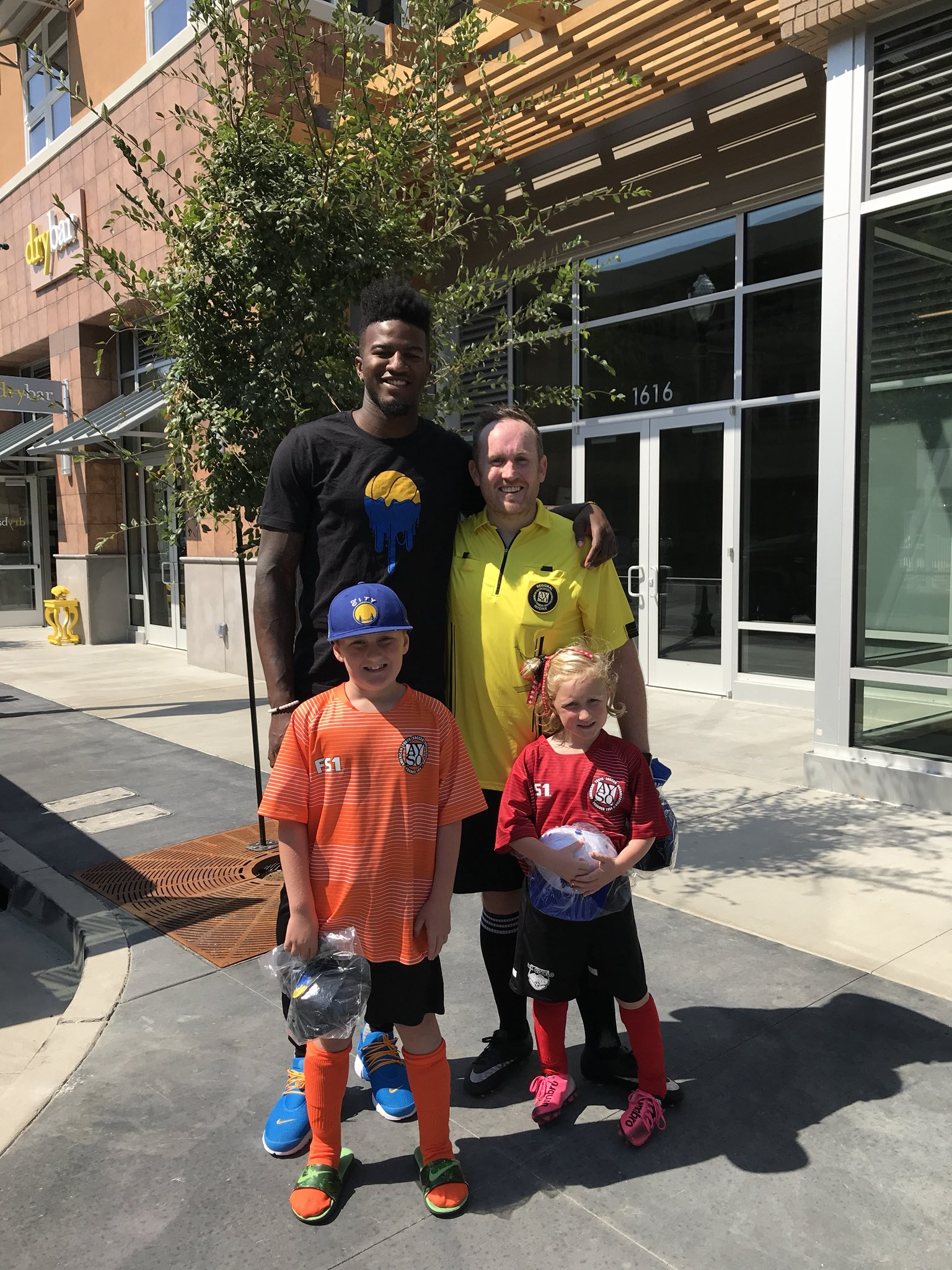 Got to meet @1jordanbell with…