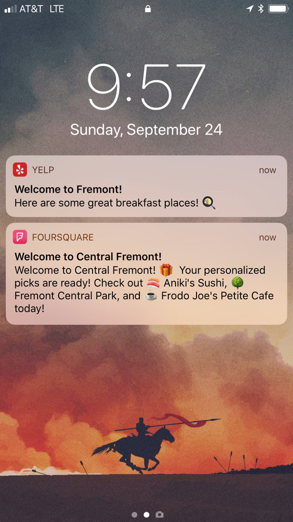 Yelp vs. Foursquare.   Fight! https://t.co/i9sfbcFsZz