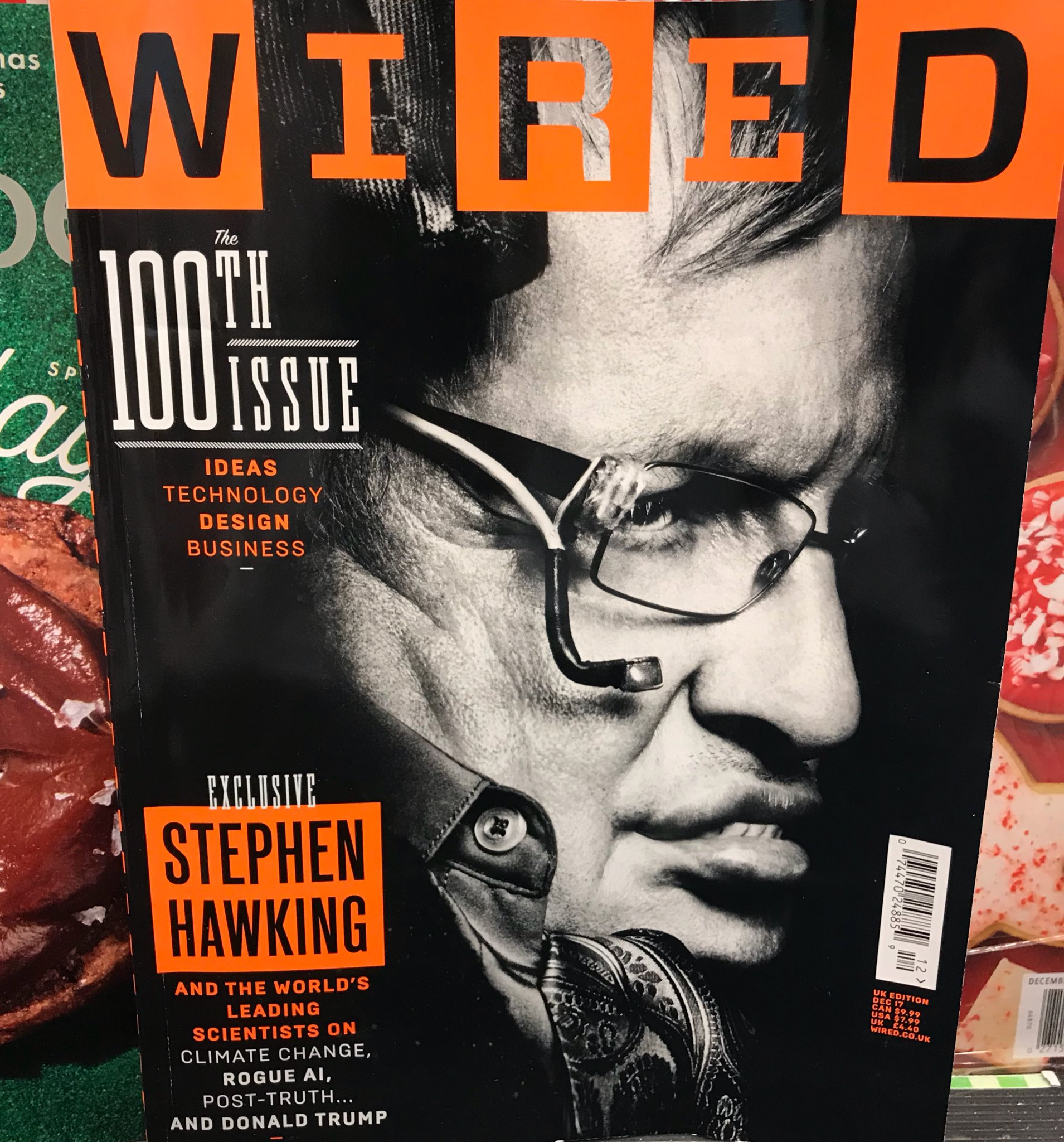 RT @mikediva: Why Stephen Hawking…