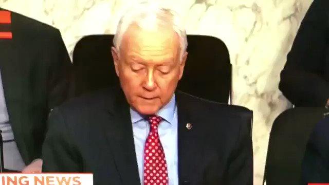 RT @LevineJonathan: WATCH: Sen. Orrin…