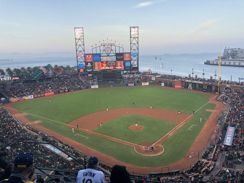 Best ballpark in America. https://t.co/lqbZu10RFg