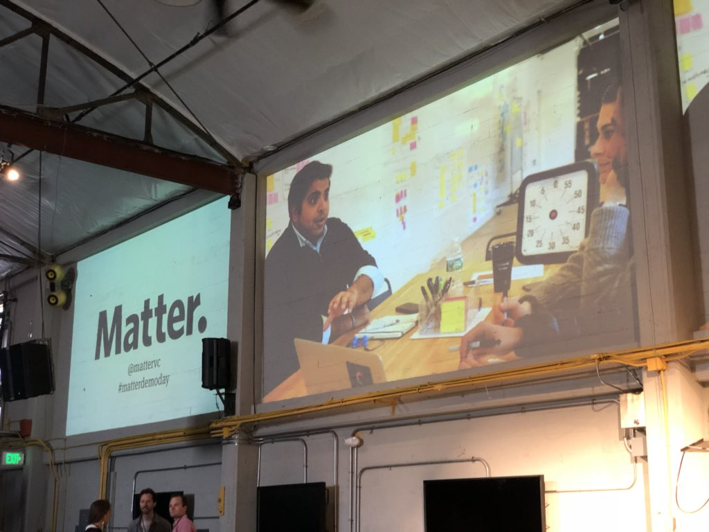 @mattervc demo day. https://t.co/3Rvf6ejeMU