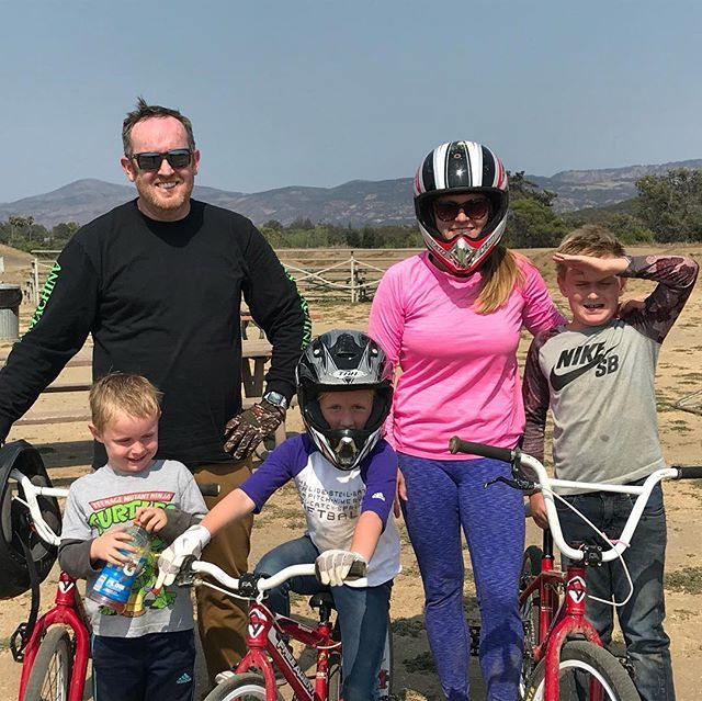 Whole family is going pro.…